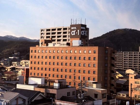 ホテルアルファーワン尾道/外観