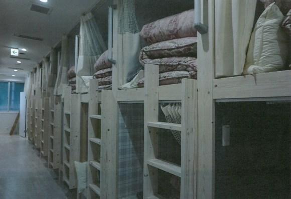 ホステル わさび大阪Bed and Library/客室