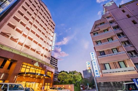 ホテルNo.1高知/外観