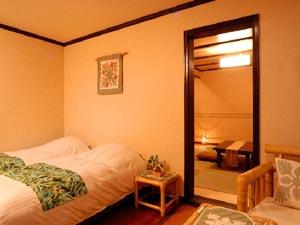 伊豆高原 ハワイアンスタイルホテル【アメリカンハウス エンジェル・キッス】/客室