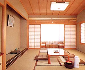 福井県市町村職員共済組合 芦原保養所 越路/客室