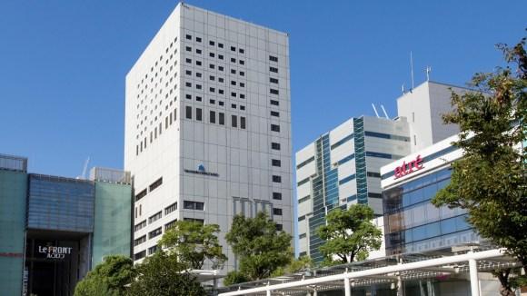 川崎日航ホテル/外観