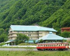 姫川温泉 ホテル国富翠泉閣/外観