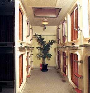 カプセルホテル サウナプラザ/客室