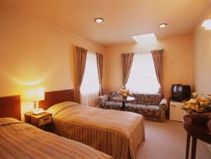伊豆高原温泉 小さなホテル 檸檬樹/客室