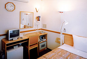 東横イン新山口駅新幹線口/客室