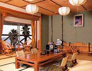 自然に囲まれた絶景の宿 ジャングルパレス/客室