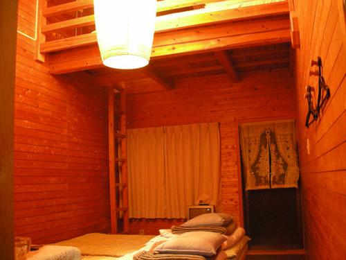ログハウス 木輪/客室