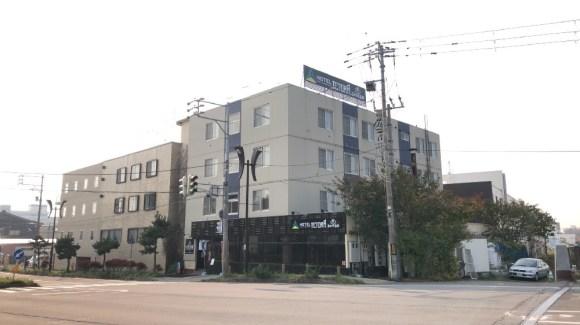 ビジネスホテル 湯の川/外観