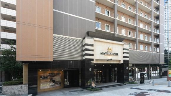 アパヴィラホテル<大阪谷町四丁目駅前>(アパホテルズ&リゾーツ)/外観