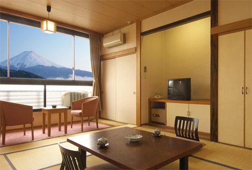 河口湖温泉 ホテル 美富士園/客室
