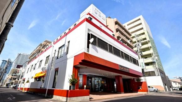 ビジネスホテル盛松館/外観