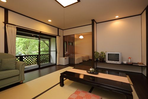 くつろぎと料理の宿 RESHUKU 森のレンガ館/客室