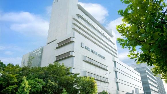 KKRホテル大阪(国家公務員共済組合連合会大阪共済会館)/外観