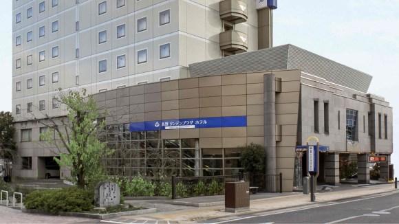 長野リンデンプラザホテル/外観
