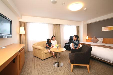 リッチモンドホテル山形駅前/客室