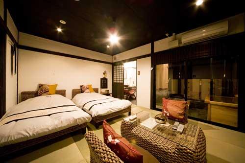 別府温泉 客室露天付 旅館 和み月/客室