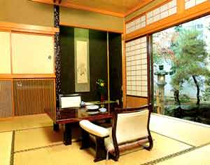 穂高荘山の庵/客室