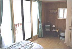 北欧の森ロッジ/客室