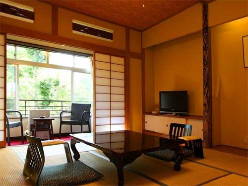 北軽井沢温泉 御宿 地蔵川/客室
