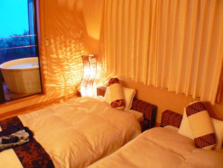 伊豆高原温泉 全室客室露天風呂付 小さなアジアン宿 rakuyado はなはな/客室