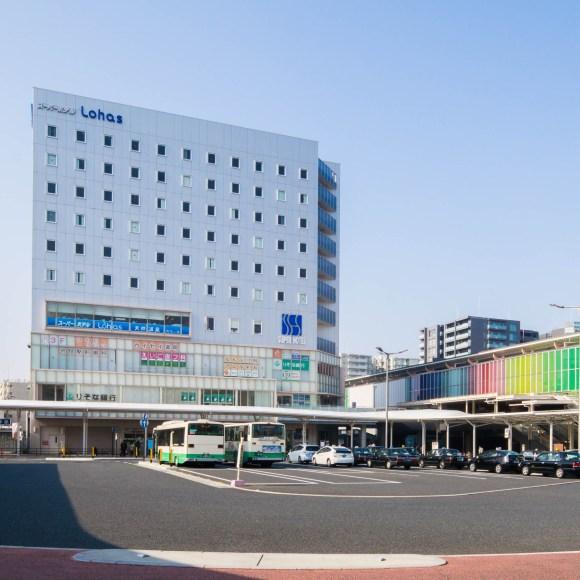 天然温泉スーパーホテル LOHAS・JR奈良駅/外観