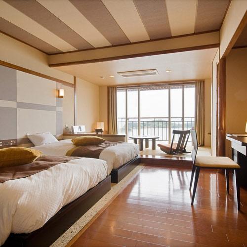 小豆島温泉 天空のオーシャンビューホテル 海廬 <小豆島>/客室