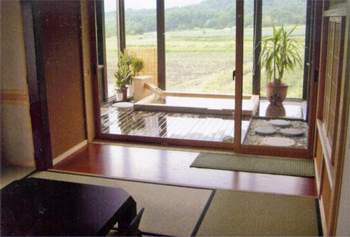 客室露天のある宿高原の丘ル・マルシェ/客室