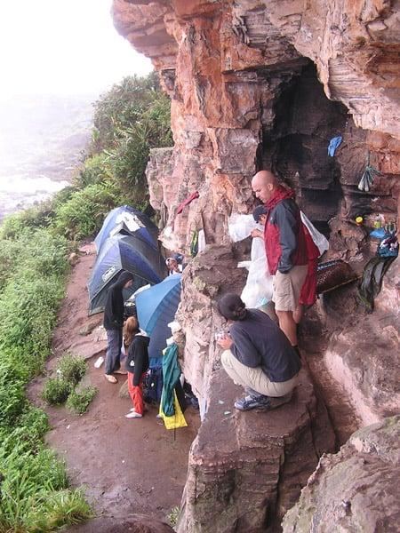Одна из остановок туристической группы / Фото из Венесуэлы