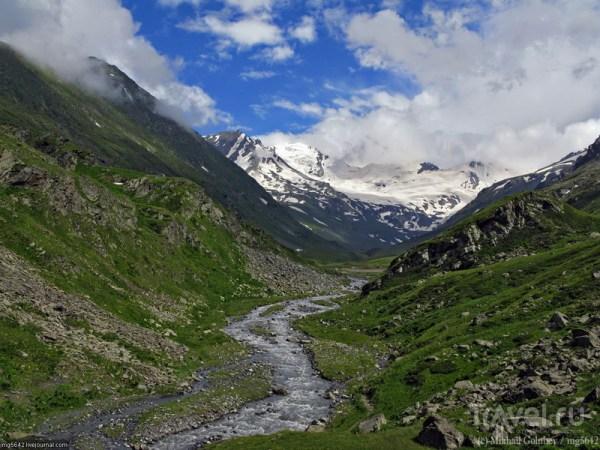 Горы Кавказа Фото