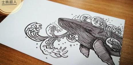 。台中 梧棲。和咖啡(已歇業):我跟鯨魚有個約會,看著鯨魚彩繪的休閒時光!