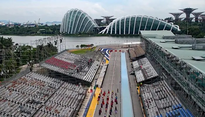 F1 Track in Singapore