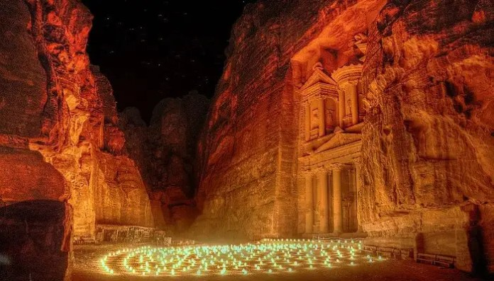 Petra Caves In Jordan: A Rose-Red City Half As Old As Time