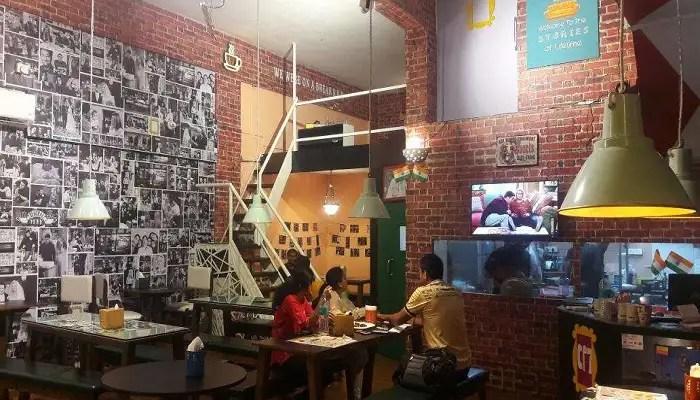 Interior view of Central Perk 7 in Kharghar in Mumbai