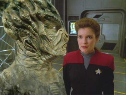 Voth in Voyager's Distant Origina episode