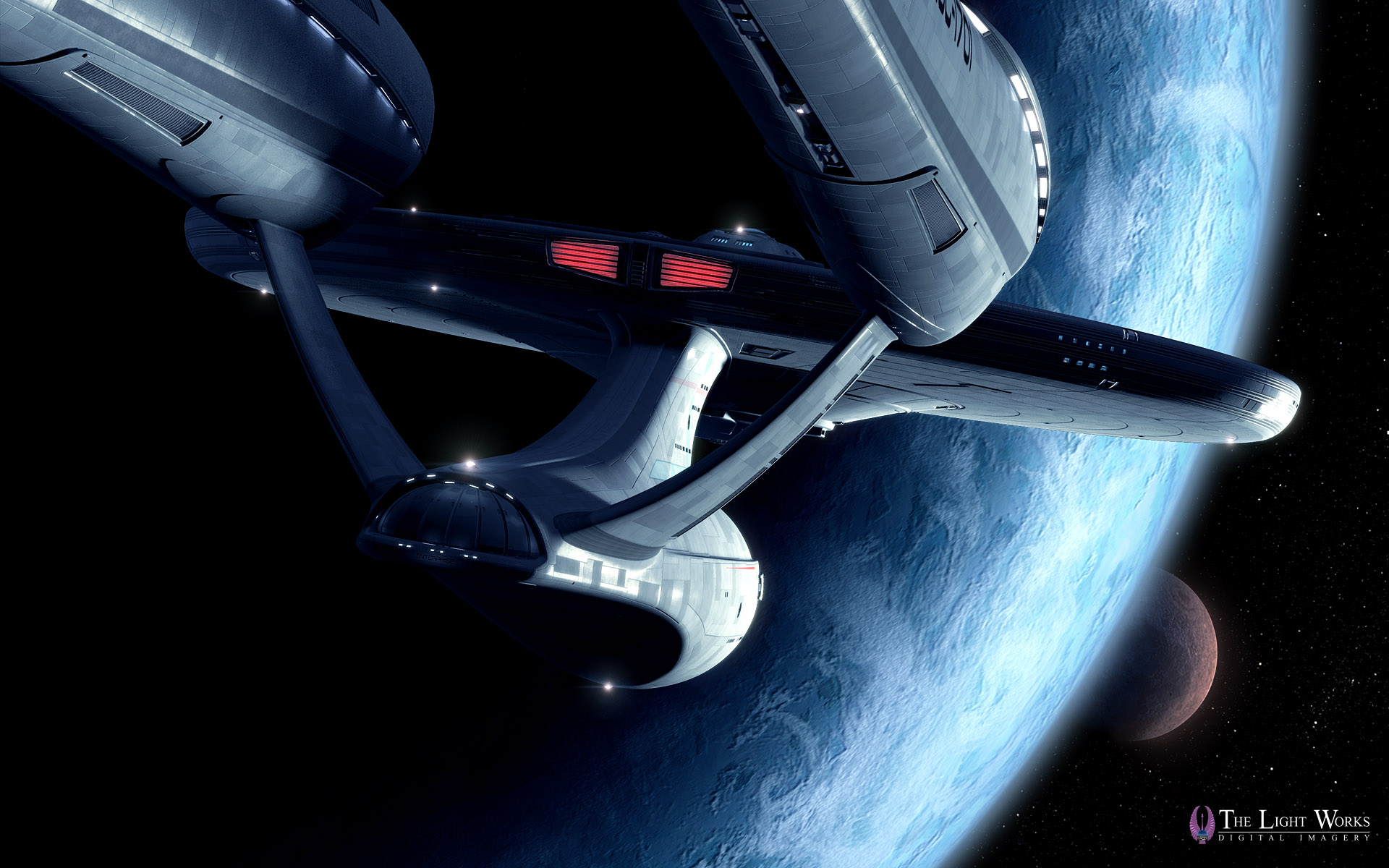 First Look at Tobias Richter's Star Trek Movie USS Enterprise Wallpapers