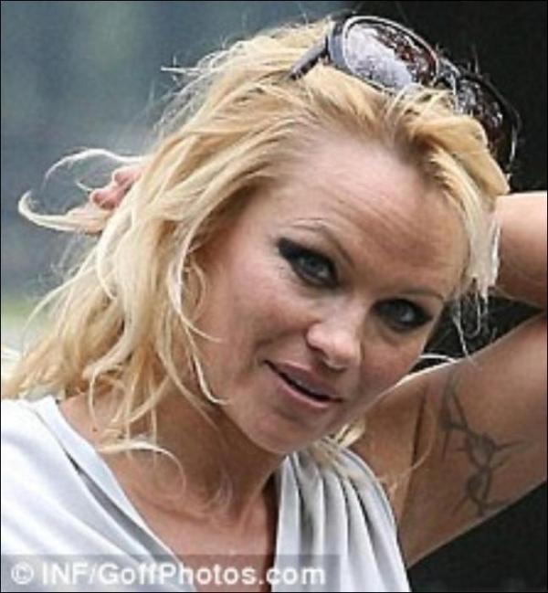 Настоящее лицо Памелы Андерсон! (фото) - Гламур - TCH.ua