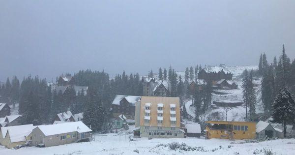 Погода Драгобрат: курорт заметает снегом — фото, видео ...