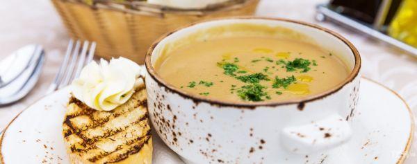 Печеночный крем-суп с красным вином: простой рецепт ...