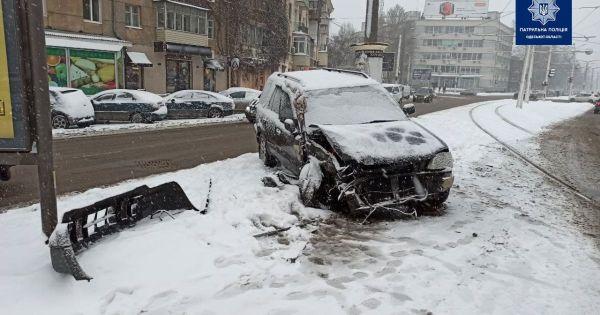 Новости Одессы: на проспекте Гагарина авто влетело в ...