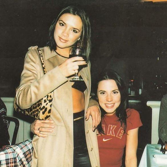 Виктория Бекхэм поздравила Мелани Си с днем рождения и ...