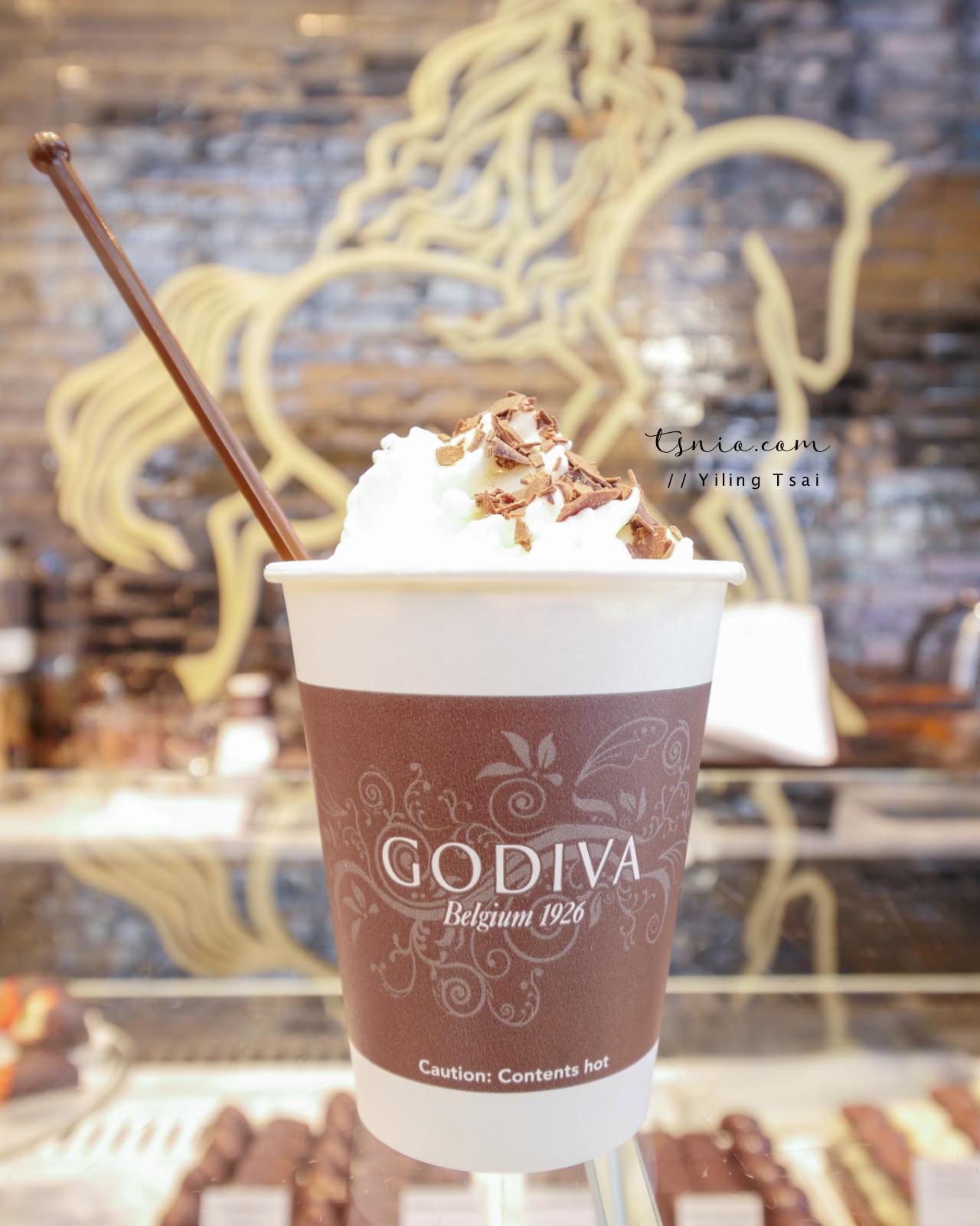 比利時巧克力 Godiva 全球知名巧克力品牌 - 蔡小妞依玲