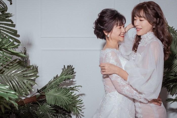 最有紀念價值的母親節禮物 帶媽媽一起拍攝閨蜜婚紗寫真