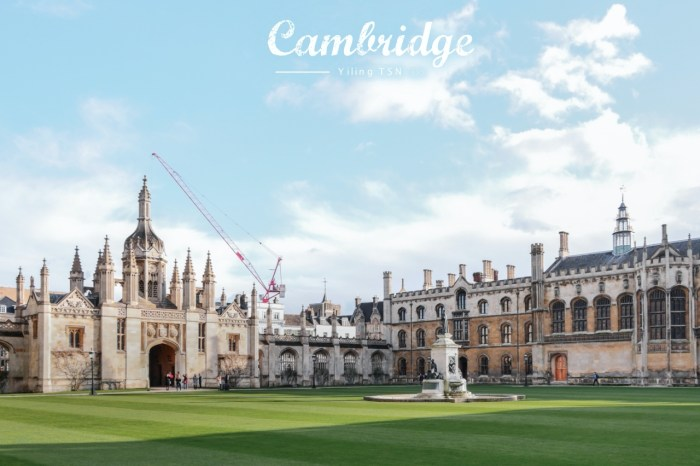 英國劍橋景點 King's College  國王學院 再別康橋徐志摩詩意美景