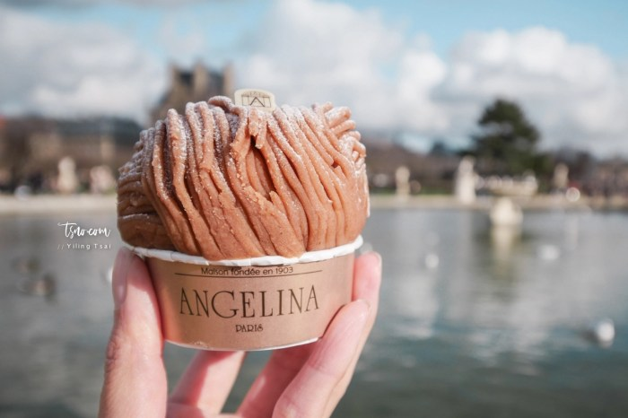 法國巴黎甜點推薦 Angelina Paris 經典百年甜點 招牌巧克力、蒙布朗