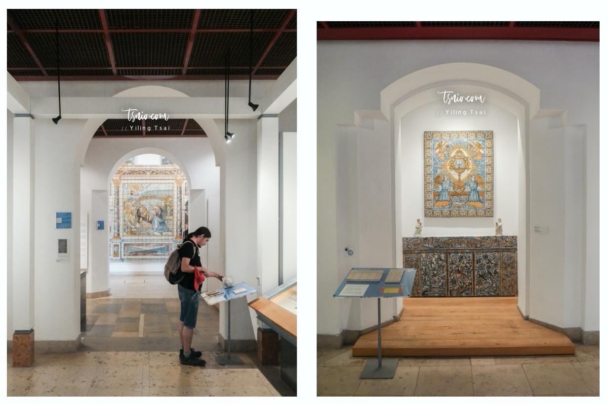 葡萄牙里斯本景點 Museu Nacional do Azulejo 磁磚博物館 葡萄牙花磚饗宴 - 蔡小妞依玲