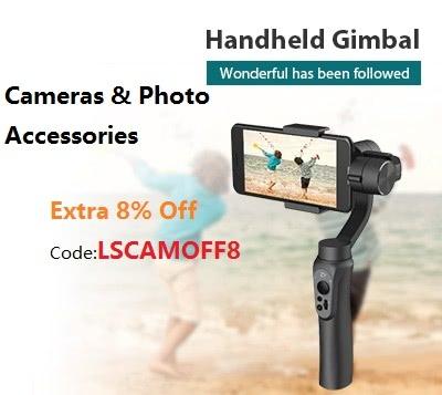 Dslr camera, GoPro Hero CHDHA-301, IP camera, video monitor, filter, Lenses, More+