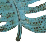 Blue Leaf Wall Art Iron Leaf Wall Decor Iron Metal Wall Art Decoration For Home Wall Hanging Ornament