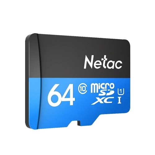 Netac P500 Class 10 64G Micro SDXC TF Flash Memory Card Data Storage High Speed Up to 80MB/s 5Dec