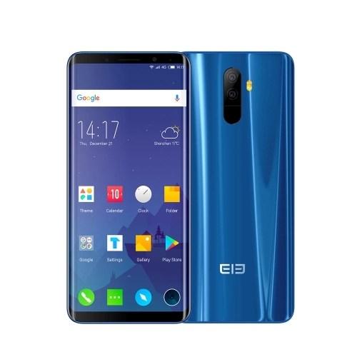 Elephone U 4G Face ID Smartphone 6GB+128GB - Blue Color